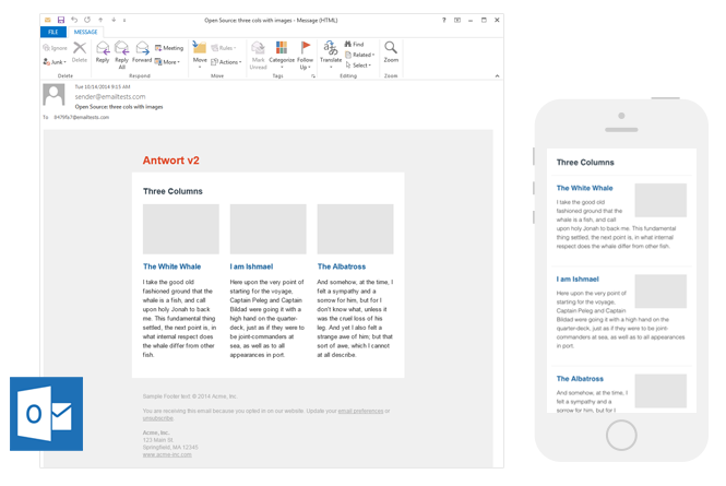 Responsive Layouts for Email